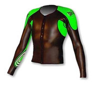Men's Past Season Tri Sleeves - Green (B50)