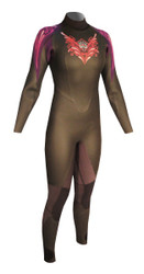 Women's Past Season 5/3 Storm Fullsuit - Mulberry (H14)