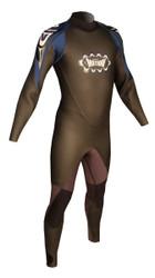Men's Past Season 5/3 Storm Fullsuit - Blue (H02)