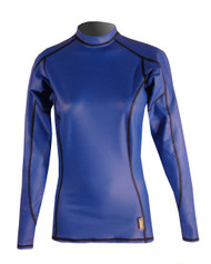 Women's Long Sleeve EXO Skin Stretch Top - Cobalt (J60)