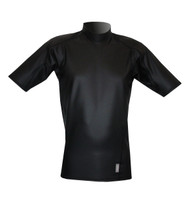 Men's Short Sleeve EXO Skin Stretch Top - Black (J53)