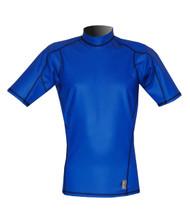 Men's Short Sleeve EXO Skin Stretch Top - Cobalt (J55)