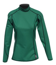 Women's Long Sleeve EXO Skin Stretch Top - Green (J57)