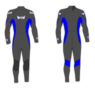 Kid's 3/2mm Fullsuit - Blue (L37)
