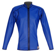 Women's L/S EXO Skin Stretch Top w/Zipper - Cobalt (K65)