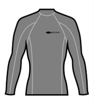 Men's Long Sleeve Surf Tee - Light Grey (M42)