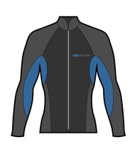 Men's 2mm Wind Jacket - Blue (M49)