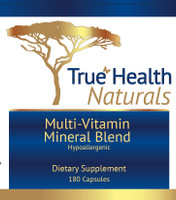 True Multi-Vitamin Mineral Blend Hypoallergenic 180 caps