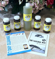 Wholistic 7-21 DAY CLEANSE KIT (8oz Olive Oil)