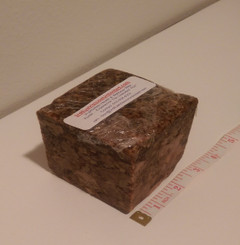 Raw African Black Soap 1.0 LB