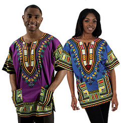 Traditional Dashiki (Unisex)