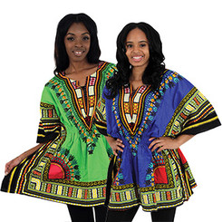 Traditional Elastic Dashiki (Women)