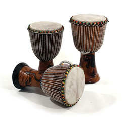 "Djembe Drum Full Size 23"" H / 13"" Dia Senegalese style"