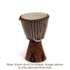 "Djembe Drum Small 12"" H / 8"" D"