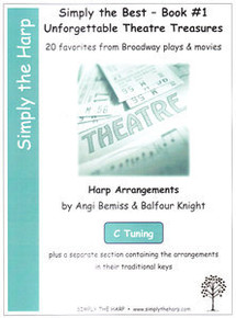 Simply the Best- Book #1 Unforgettable Theatre Treasures by Angi Bemiss & Balfour Knight (C tuning)