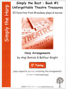 Simply the Best- Book #1 Unforgettable Theatre Treasures by Angi Bemiss & Balfour Knight (Eb tuning)
