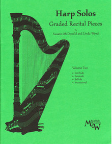 Harp Solos Graded Recital Pieces- Volume 2