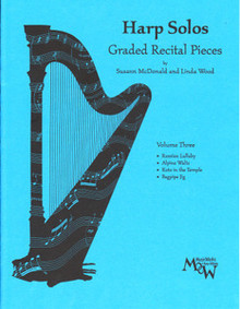 Harp Solos Graded Recital Pieces- Volume 3