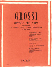 "Grossi: Method For the Harp ""Metodo Per Arpa"""