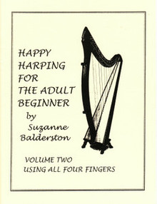 Happy Harping for the Adult Beginner, Volume 2