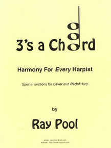 3's a Chord- Harmony for Every Harpist by Ray Pool