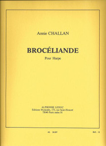 Brocéliande by Annie Challan