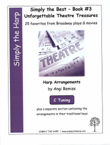 Simply the Best- Book #3 Unforgettable Theatre Treasures by Angi Bemiss (C tuning)