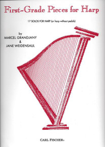 First Grade Pieces for Harp by Marcel Grandjany