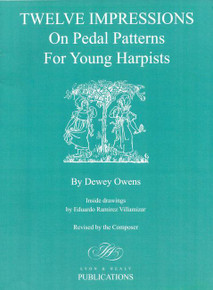 Twelve Impressions on Pedal Patterns for Young Harpists