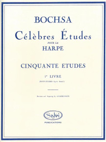 Bochsa-Celebres Etudes (Fifty Studies, Book 1)