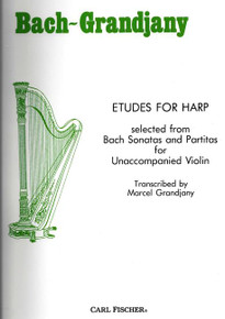 Etudes for Harp by Bach / Grandjany