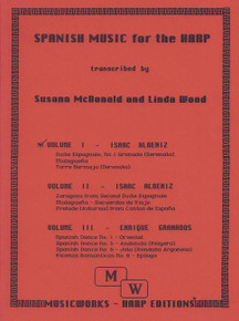 Spanish Music for the Harp, Volume 1 by Susann  McDonald & Linda Wood