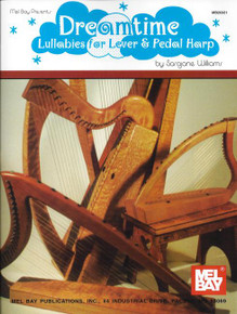 Dreamtime: Lullabies for Lever & Pedal Harp by Sarajane Williams