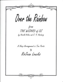 Over the Rainbow (Two Harps) by RoJean Loucks