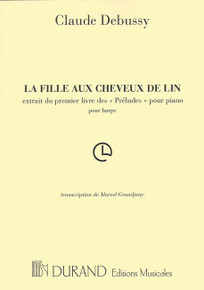 The Maid with the Flaxen Hair (La Fille Aux Cheveux de Lin) by Claude Debussy, transcribed by Marcel Grandjany