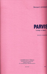 Parvis (for two harps) by Bernard Andres