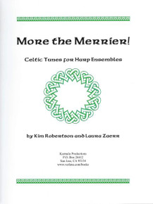 More the Merrier! (for 3 harps) by Kim Robertson and Laura Zaerr