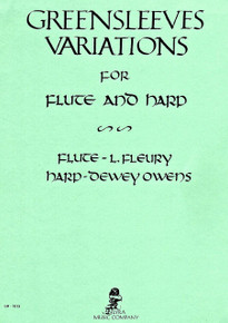 Greensleeves Variations for flute and harp (Owens)