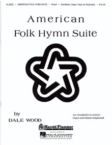 American Folk Hymn Suite for harp, organ, and handbells by Dale Woods