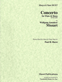 Concerto for Flute & Harp 2nd movement by Mozart / Paul Hurst