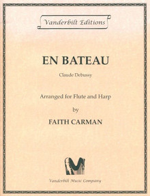 En Bateau- for flute and harp by Debussy