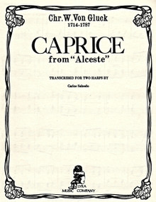 "Caprice from ""Alceste"" by Gluck / Salzedo"