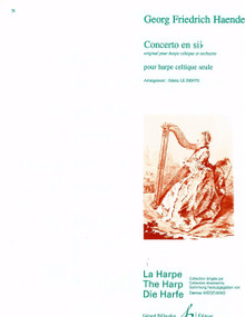 Concerto in Bb (for lever harp) by Handel / LeDentu