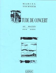 Etude de Concert, Au Matin by Tournier