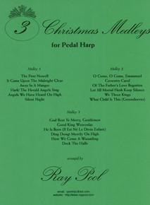 3 Christmas Medleys for Pedal by Ray Pool