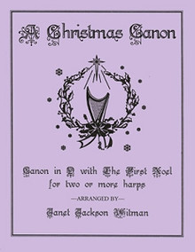 Christmas Canon (for two or more harps) arr. by Witman