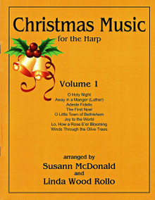 Christmas Music for the Harp V.1  arr McDonald, Wood