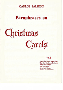Paraphrases on Christmas Carols, Vol. 2 (Salzedo)
