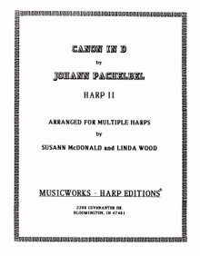 Canon in D-Harp II by Pachelbel / McDonald / Wood