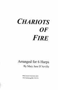 Chariots of Fire (for 6 harps) by Vangelis / Mary Jane D'Arville